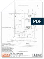 As submitted - Site Plan