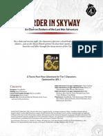 DDAL-ELW01 - Murder in Skyway