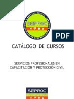 catalogo cursos y talleres seproc