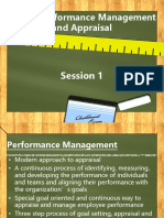 Unit 5 Performance Management and Appraisal