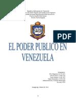 EL PODER PUBLICO EN VENEZUELA