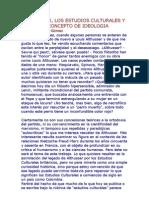 ALTHUSSER_los Estudios Culturales y Concepto de Ideologia