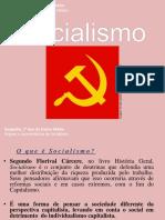 Origem e Características do Socialismo