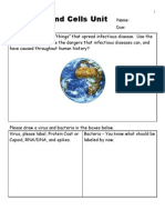Diseases and Cells Unit Assessment / Homework - for Educators Download unit at www. science powerpoint .com