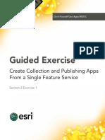Section2Exercise1-CreateCollectionandPublishingAppsFromASingleFeatureService