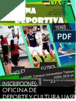 Afiche Mañana Deportiva 2