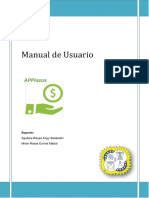 Ejemplo de Manual un software