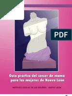 Guía práctica del cáncer de mama