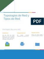 Topologias de Red y Tipos de Red