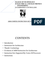 ARM CORTEX INSTRUCTIONS