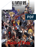FFRPG Expansion Set - Seals of Fate