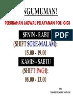 Jadwal poli gigi.pdf