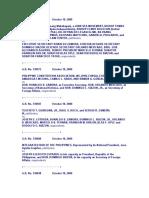 PIL Cases - Treaties