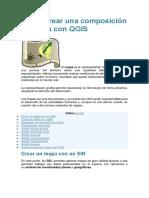 Cómo crear una composición de mapa con QGIS