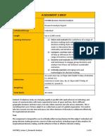 Assessment 3 Brief