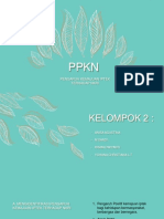 Linear Leaves Pattern PowerPoint Templates.pptx
