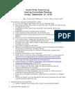 2010-09-13 Steering Committee Minutes