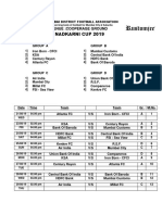 Nadkarni Cup 2019