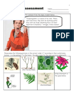 Plant Unit Assessment / Homework for Educators - Download entire unit at www. science powerpoint .com