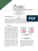 informe membranas