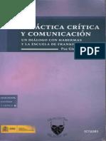 Paz Gimeno Lorente, Didáctica Crítica y Comunicación