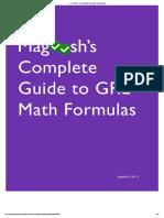 maggosh math formula