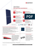 360 Watt POLY HALF CELL SOLAR MODULE