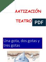 dramatización teatro
