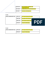 tos list subject.docx