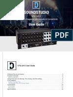 STG-2412 User Guide
