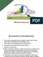 Business Economics BBA 1