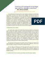 ÁLVAREZ FERNÁNDEZ. Situaciones operatorias en la investigación psicológica