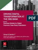 Driving Digital Transformation at DBS