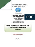Mali_PEER_2013.pdf