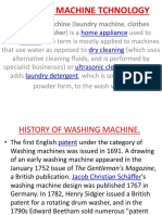 WASHING MACHINE TCHNOLOGY.pptx