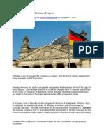 Germany Real Estate Residence Program