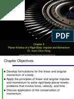 4. Planar Kinetics of a Rigid Body Impulse and Momentum