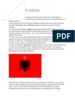 comunismo albanese