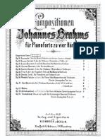 Брамс Венгерские танцы