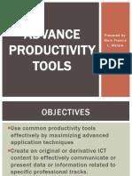 ETECH-Advance productivity tool