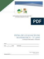 Ava Intermédia 2ºP Mat 4ºano(Final) 2019 2020