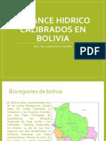 BALANCE HIDRICO SUPERFICIAL DE BOLIVIA