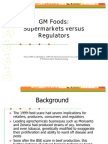 Gm Food Power Point