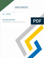 Environmental Plan - AL AYUNI