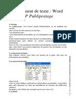 Cours PubliPost