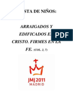 Fiesta de niños y la JMJ