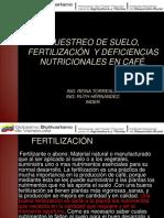 FERTILIZACIÓN EN CAFÉ