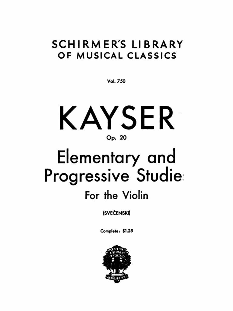 Kayser Violin