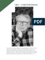 O carte despre… o viaţă (Gelu Ionescu)