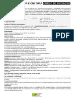 UP ALMADA - ESPAÑOL LINGUA E CULTURA - Programa (2020 fev)